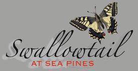 Swallowtail at Sea Pines Logo