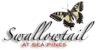 Swallowtail at Sea Pines Logo